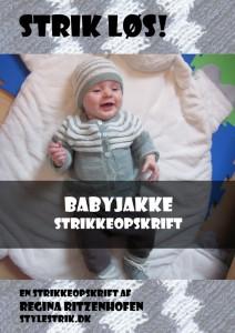 589928c2 To strikkeopskrifter på strikket babyjakke | Strik en lækker babyjakke